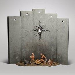 Pessebre de Banksy a Betlem