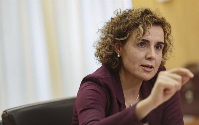 L'eurodiputada Dolors Montserrat (PP)