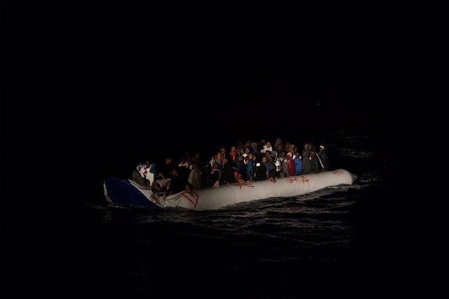 Rescat de migrants de l''Ocean Viking'