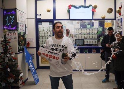 """Alcampo.- Dueño de la Administración que reparte el 'Gordo': """"Es el mayor premio para un lotero: dar el Gordo"""""""