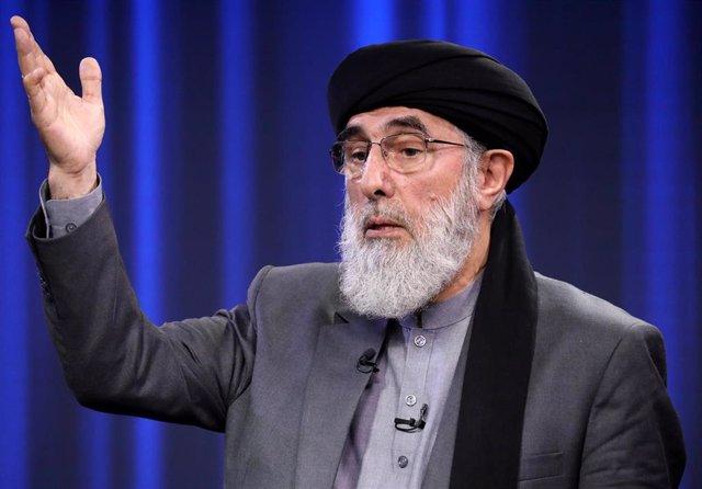 Gulbuddin Hekmatyar, líder de Hezb-e-Islami y antiguo 'señor de la guerra' en Afganistán