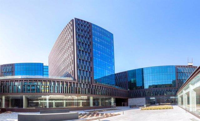 Projecte del complex d'oficines del districte 22@ de Barcelona, amb 101 punts del Leed Green Building, un mesurament per punts sobre edificis sostenibles que emet l'US Green Building Council