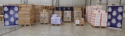Decomisan en Málaga y Córdoba tabaco de contrabando por valor de 700.0000 euros y detienen a nueve personas