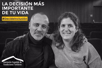 """Javier Gutiérrez defiende """"el derecho a decidir"""" de las personas con discapacidad a través de una campaña de la AEFT"""
