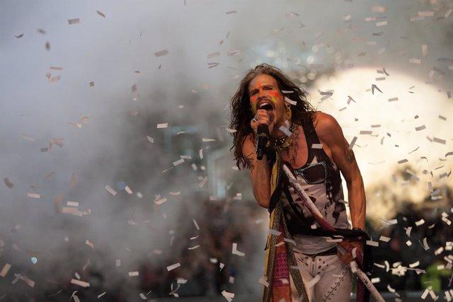 Steven Tyler, legendario cantante de Aerosmith