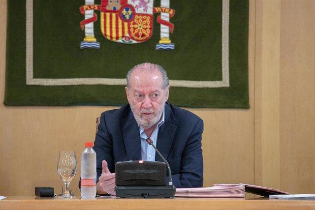 El presidente de la Federación Andaluza de Municipios y Provincias (FAMP), Fernando Rodríguez Villalobos. Foto de archivo.