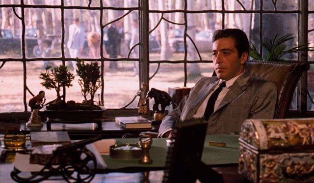 Imagen: Al Pacino como Michael Corleone en El padrino. Parte II.