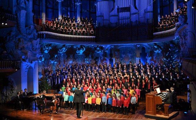 El Concert de Sant Esteve reunirà la família coral de l'Orfeó Català amb quatre estrenes