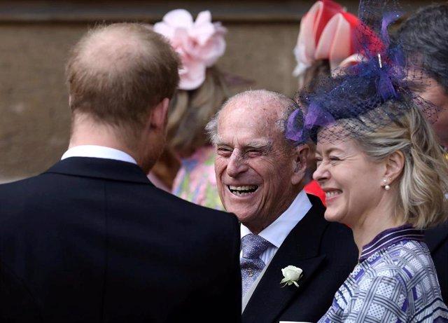 El príncipe Felipe del Reino Unido, duque de Edimburgo.