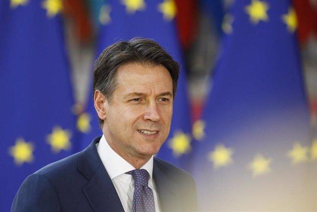 Giuseppe Conte, primer ministro de Italia