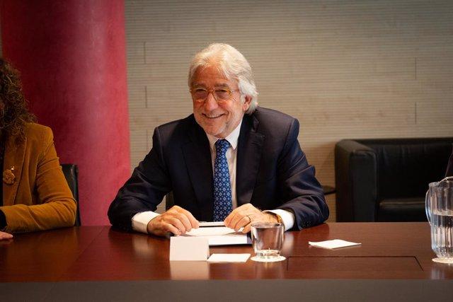 Josep Sánchez Llibre, president del Foment del Treball