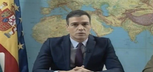El president del Govern en funcions, Pedro Sánchez, felicita el Nadal als militars desplegats en l'exterior