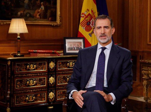 Iniciativa critica que el asturiano no estuviera presente en el discurso del Rey