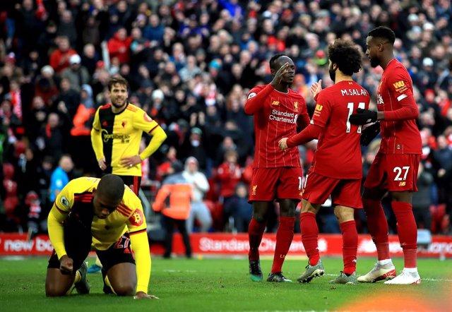 Fútbol/Premier.- (Previa) El Liverpool busca dar un golpe sobre la mesa en el 'B