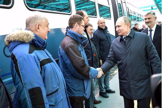 Ucrania/Rusia.- Ucrania abre una investigación penal por la línea de tren a Crim