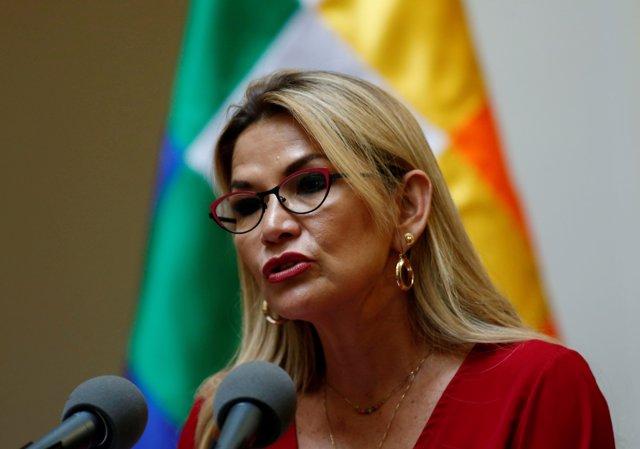 Jeanine Áñez, presidenta del Estado Plurinacional de Bolivia