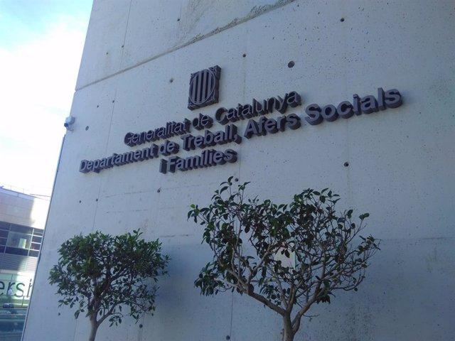 Seu de la Conselleria de Treball, Assumptes Socials i Famílies de la Generalitat (arxiu)