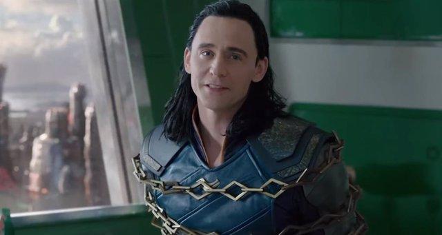 Tom Hiddleston en Thor: Ragnarok