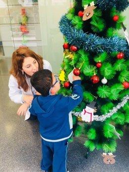 Navidad de un niño con autismo