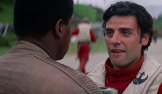 Finn y Poe en El ascenso de Skywalker