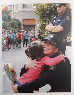 Felicitació nadalenca del director de la Policia, Francisco Pardo.