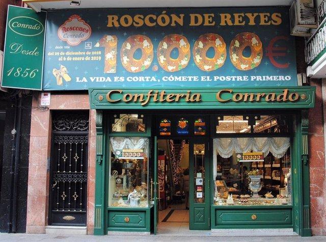 Confitería Conrado de La Bañeza (León).