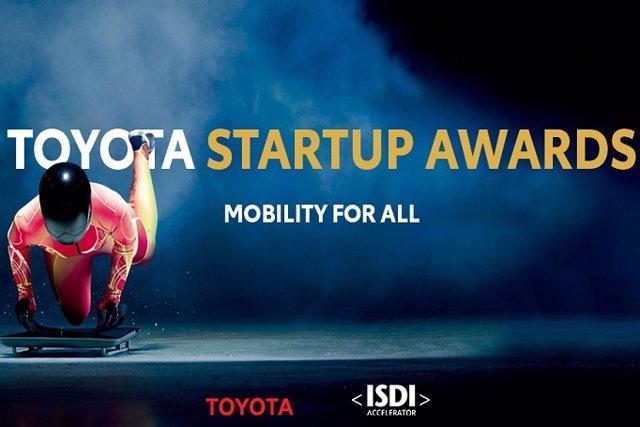 Imatge dels 'Toyota Startup Awards'