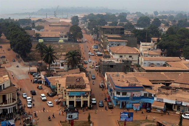Vista general de Bangui