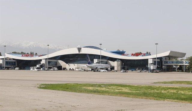 Imagen de archivo del aeropuerto de Almaty (Kazajistán).