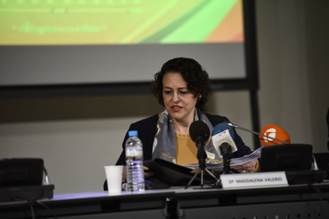 La ministra de Treball en funcions, Magdalena Valerio, en una imatge d'arxiu