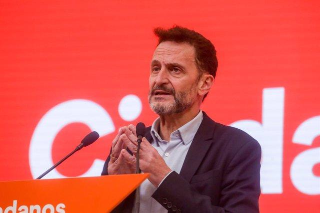 El diputat de Ciutadans, Edmundo Bal, en una imatge d'arxiu