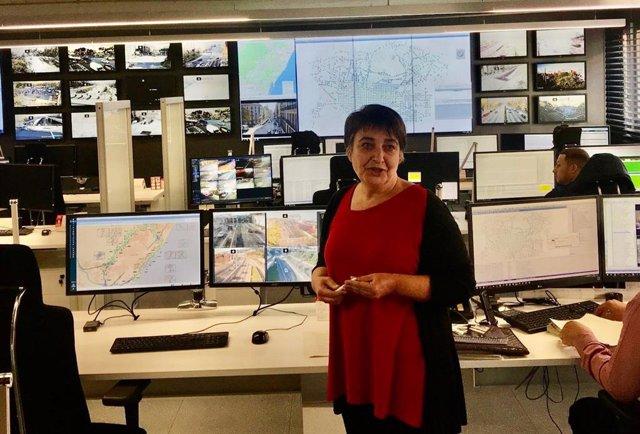La regidora de Mobilitat de Barcelona, Rosa Alarcón