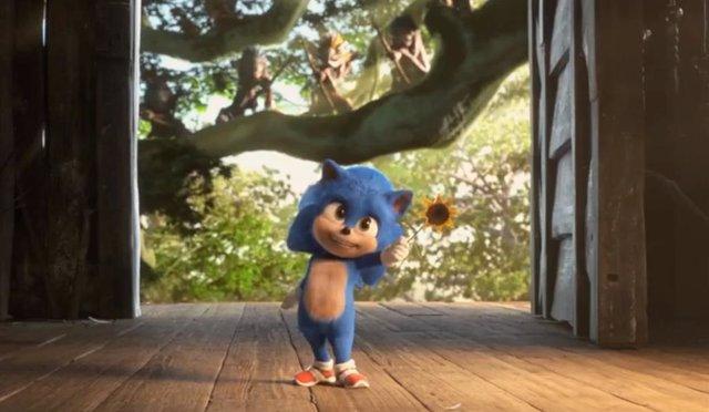 """Imagen de """"baby Sonic"""""""