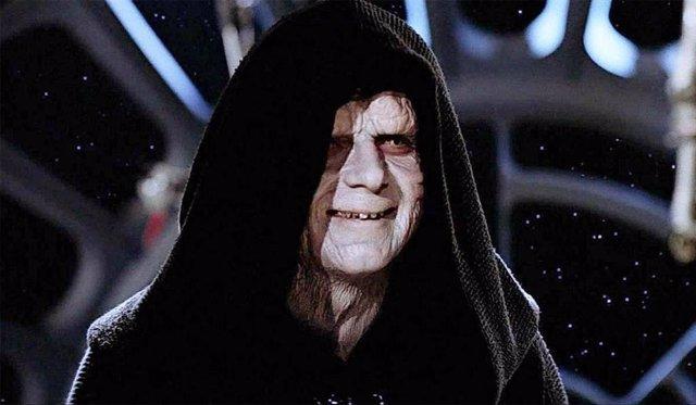 El emperador Palpatine en Star Wars