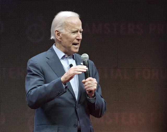 Imagen de archivo del exvicepresidente de Estados Unidos, Joe Biden.