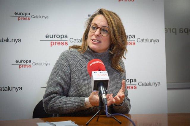 La diptuada de la CUP al Congrés, Mireia Vehí.
