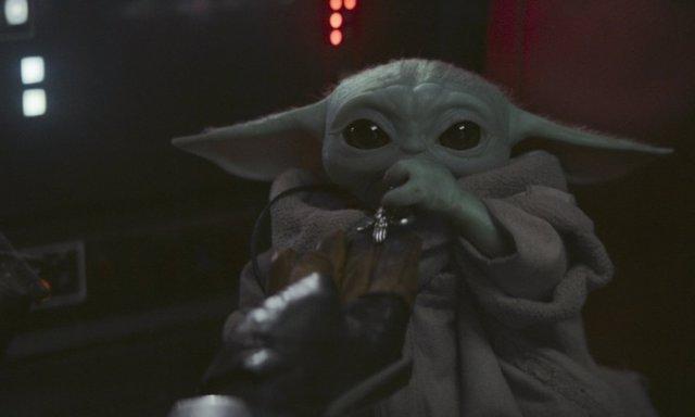 Baby Yoda, uno de los personajes más populares de The Mandalorian