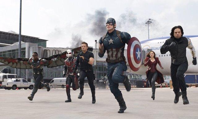 Los héroes de Marvel unidos
