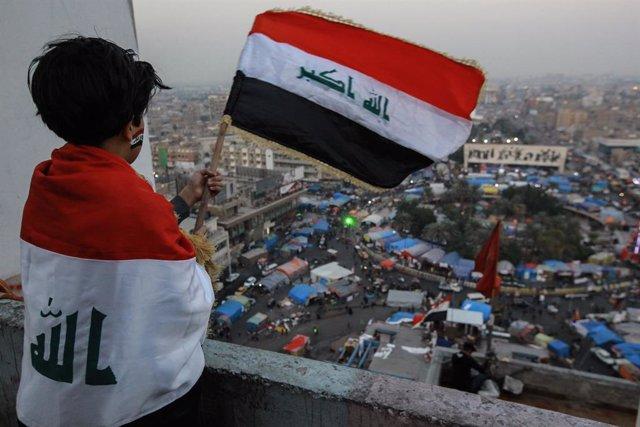 Protestes a l'Iraq