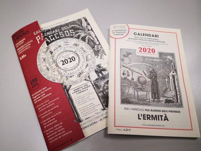 Dos calendaris tradicionals catalans per 2020
