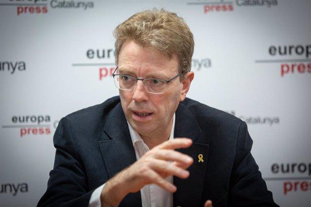 El diputat de JxCat al Congrés i secretari d'Organització del PDeCAT, Ferran Bel