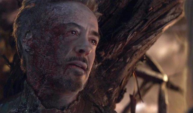 Tony Stark en sus últimos momentos