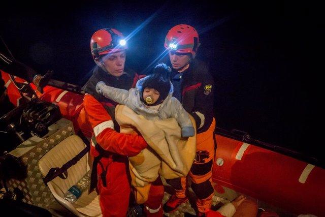 Rescat del vaixell Alan Kurdi