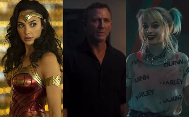 Wonder Woman, James Bond y Harley Quinn son algunos de los protagonistas de 2020