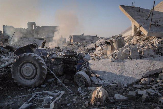 Atacs a la província siriana d'Idlib