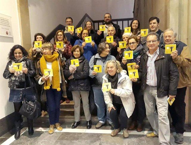 Presentación de la VIII Muestra de Cine Social y Derechos Humanos de Asturias (Musoc).