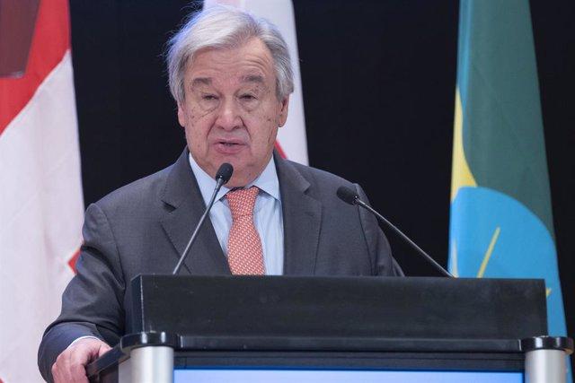 António Guterres, secretari general de l'ONU