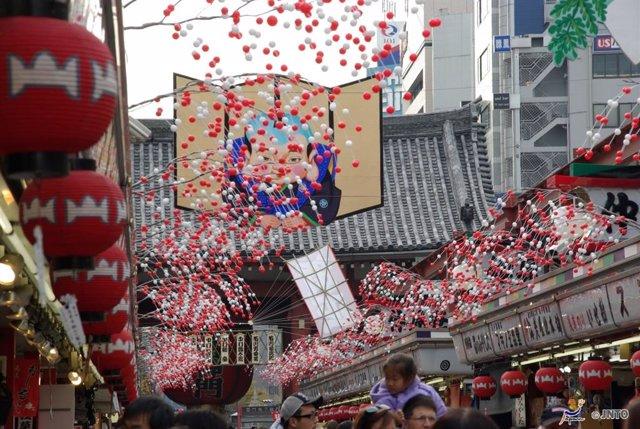 Propuestas para recibir el Año Nuevo en Japón