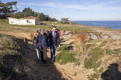 Medio Ambiente ejecuta la recuperación y conservación de las dunas colgantes de Punta de la Mesa