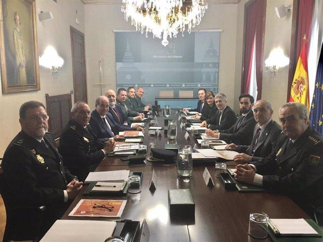 Reunión de Balance del Plan de Seguridad del Campo de Gibraltar